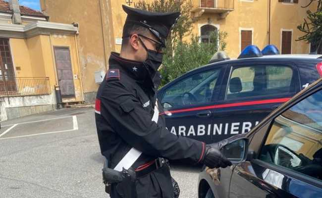 carabinieri mascherina qui